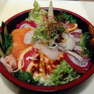 Chiriashi by Chef Yutaka Hashimoto - Nona Riccione Ristorante