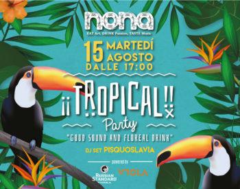 Beach Tropical Party