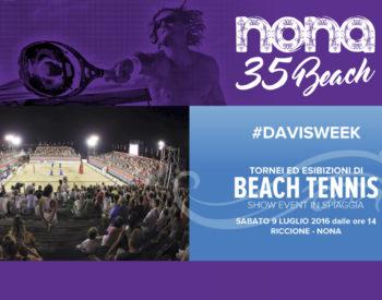 Beach tenis al Nona – DavisWeek