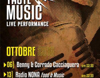 Nona Taste Music Ottobre