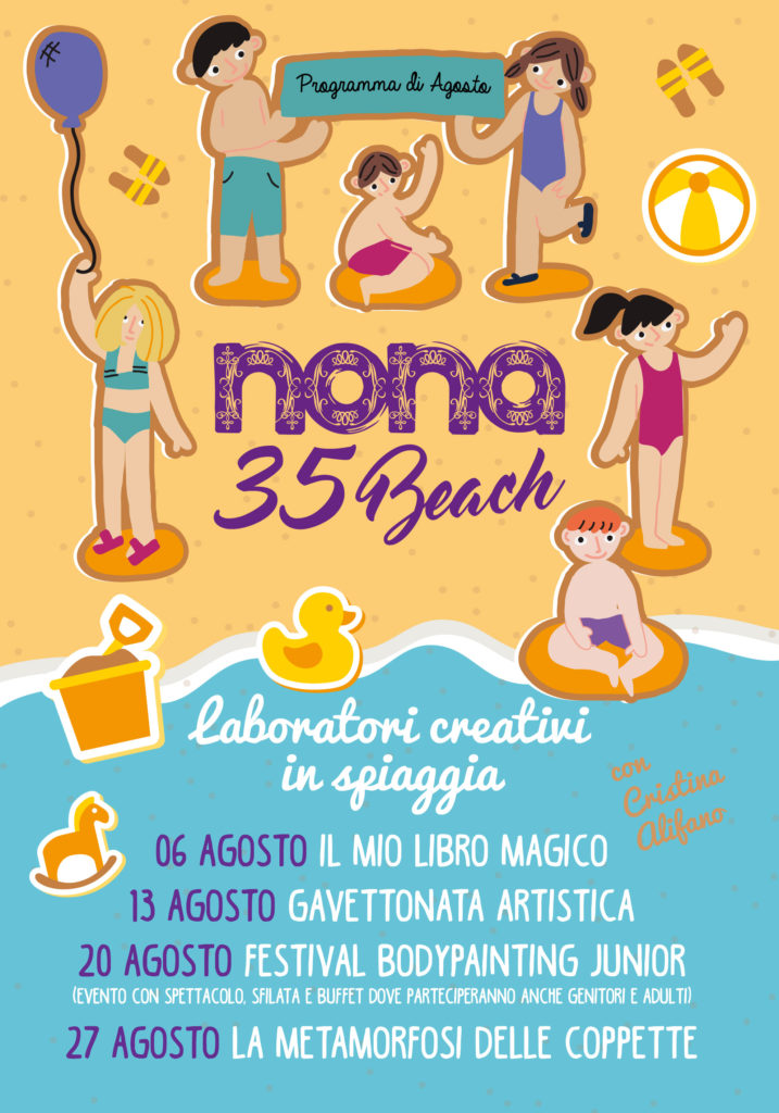Happy Family Sundays in Spiaggia