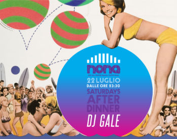 Live Dj Gale al Nona Riccione