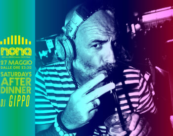 saturdays after dinner with dj gippo