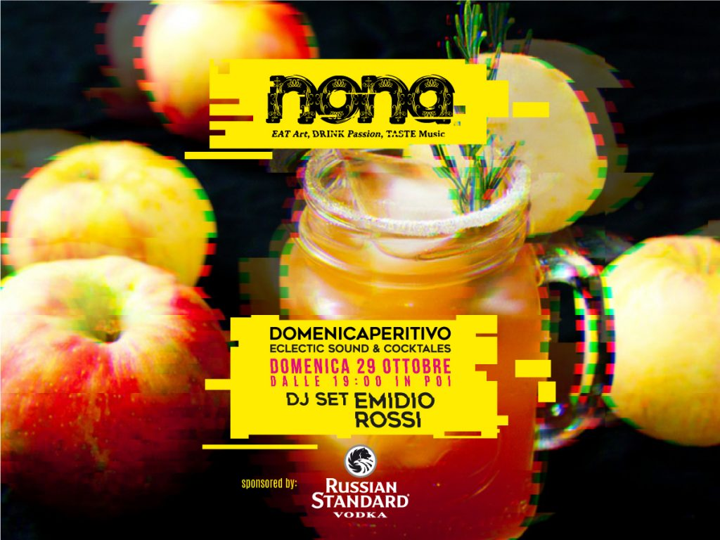 Domenicaperitivo - Dj Set Emidio Rossi
